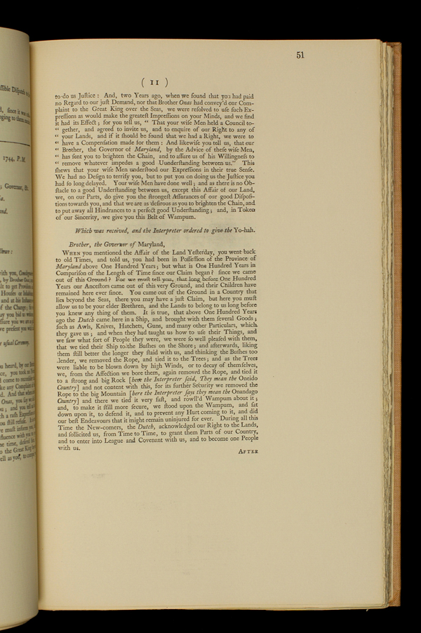 Page 51 of the Treaty of Lancaster proceedings